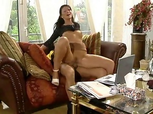 Wild Housewives Riding Cock