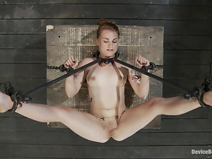 The device is choking Payton Bell and she is feeling bad
