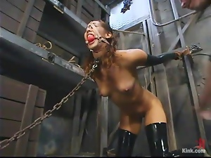 Lust is tied up and fucked by her master Mark Davis