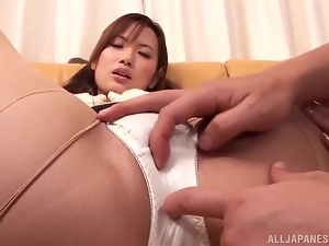 Naughty Asian office girl gets nailed in hot POV video