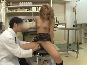 Kinky Miyu Hoshino gets fucked hard in a hospital