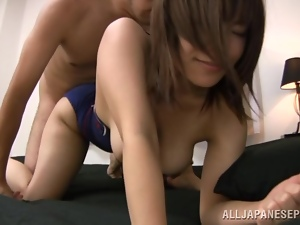 Ugly girls with a fine ass gets poked from behind