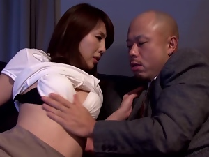 Misa Yuki gets her pussy fingered, toyed and fucked from behind