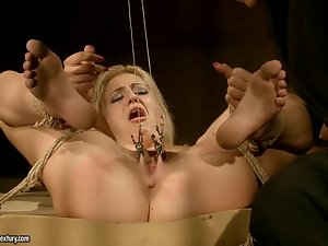 Blanche the sexy blonde gets fucked and humiliated