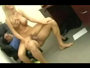Nikki Benz gets fucked at work