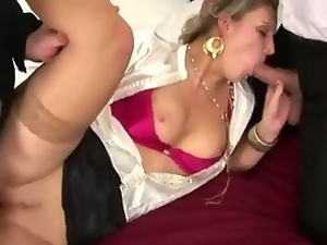 Blonde dp fetish whore