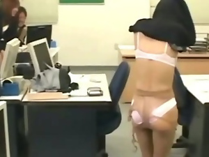 Asian fetish girl tied up and stripped