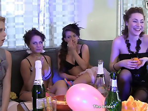 Bridal shower with hot college sluts 4