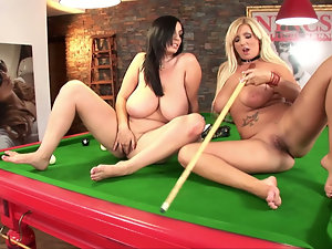 Busty Billiard Babes. Part 2