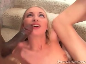 Teenager dicked in the ass by black cock