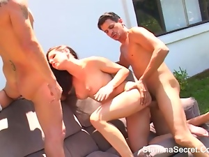 ARIANA JOLIE - Awesome Woman Get Double Sexual penetration 2