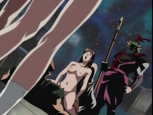 Kinky alien and space fuck in a hentai video