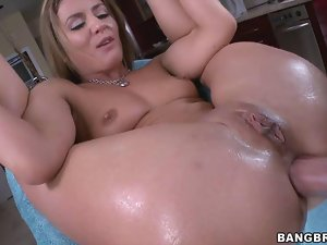 Sheena Shaw Sits on a Big Cock and Analed Hardcore