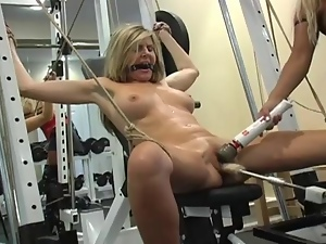 Two Blondes In Bdsm Fucking Styl...