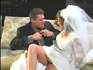 Hot Fuck At Wedding Night