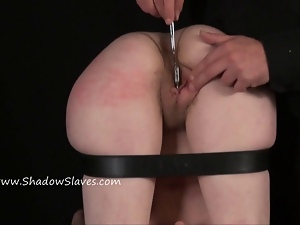 Fisting punishment and deep bondage slave dominate