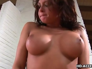 Busty bitch Tory Lane moans during anal sex