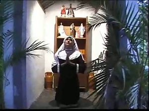 Naughty nun gonna make you cum