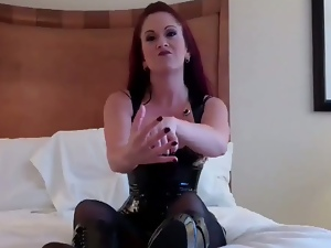 Squeezing and kicking your balls humiliation