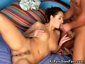 Daria gets fucked hard and receive nice cum shot