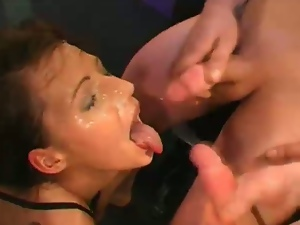 German sluts takes multiple cumshots