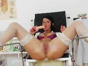 Milf nurse masturbating
