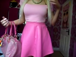 Outfit Of The Day Rosy Skirt