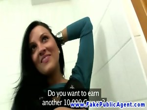 European girlnextdoor banged for cash