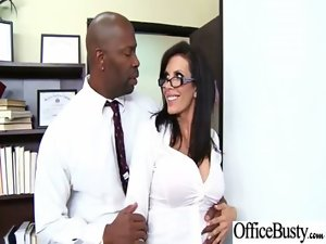 Office Wild Sex For Filthy Vixen Raunchy Chesty Worker Girlie movie-32
