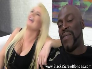 Fat dick for sensual blond whore