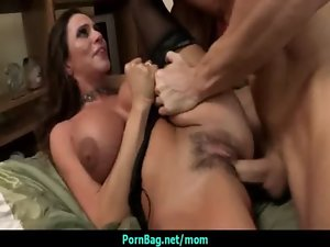 Large melons stepmom getting banged rough 4