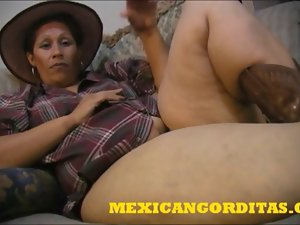 ANOTHER Nice MEXICAN Fatty CREAMPIE
