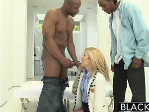 BLACKED 2 Large dark pricks for Rich Chick Emily Kae