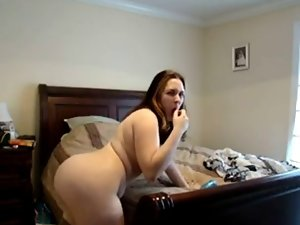 Plump Slutty wife Gina Masturbating - negrofloripa
