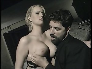 Wicked italian priest & a 18yo tempting blonde