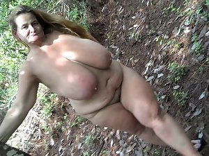 Incredible Sarah outdoors