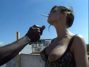 smoking whore