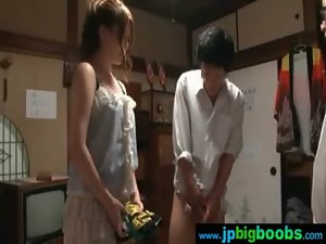 Sensual Big Melons Jap Chick Get Screwed Wild movie-01