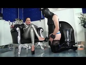 Lovely Wench Mistress with Heels