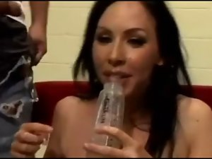 She loves to drink cum #3 (compilation)