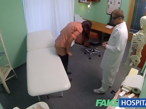 FakeHospital Sensual patients moans of enjoyment lowersblood