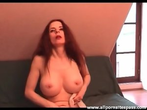 Big titty girl with major pussy piercings