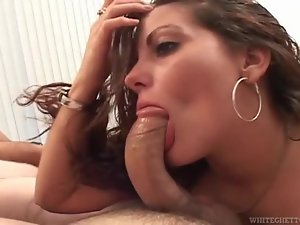 She can deepthroat a dick and goes after man