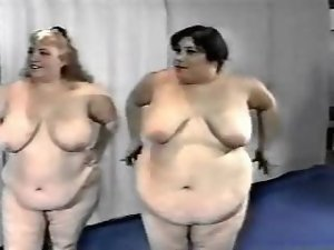 Gym full of obese babes seduce their trainer