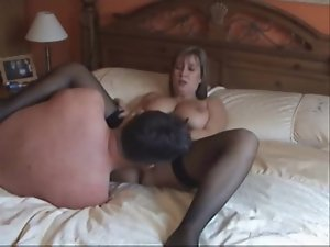 Chubby wife banged in amateur video