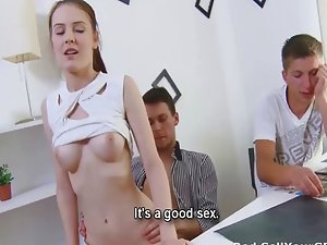 She wants more cash and sex