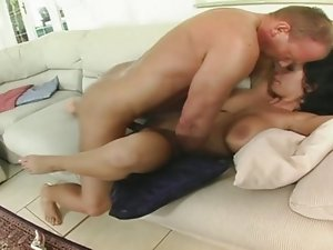 Big tit Laura Lion goes anal