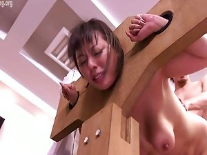 Japanese Office Lady  into Stock
