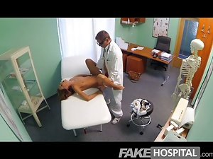 FakeHospital - Spying on hot young babe