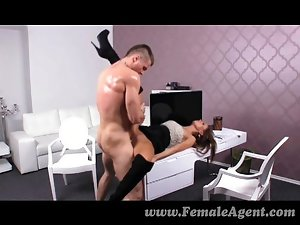 FemaleAgent - Stud can fuck but can he finish